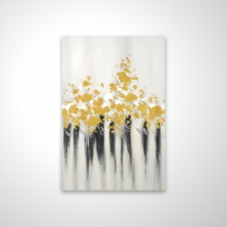 Magnetic 20 x 30 - 3D - Abstract gold flowers