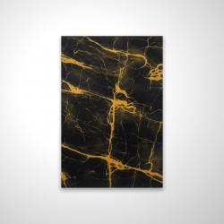Magnetic 20 x 30 - 3D - Black and gold marble texture