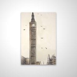 Magnetic 20 x 30 - 3D - Big ben in london