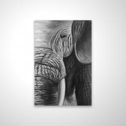 Magnetic 20 x 30 - 3D - Elephant