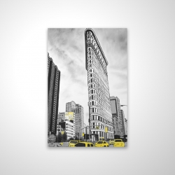 Magnetic 20 x 30 - 3D - Outline of flatiron building to new-york