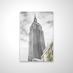 Magnetic 20 x 30 - 3D - Outline of empire state building