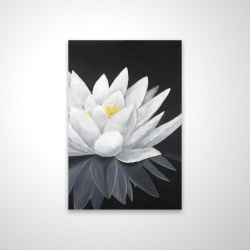 Magnetic 20 x 30 - 3D - Lotus flower with reflection