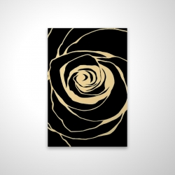 Magnetic 28 x 42 - 3D - Black rose