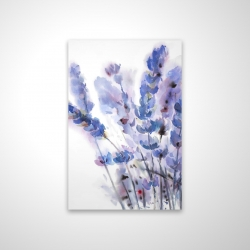 Magnetic 20 x 30 - 3D - Watercolor lavender flowers