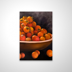 Magnetic 20 x 30 - 3D - Bowl of cherry tomatoes