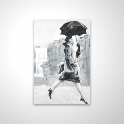 Magnetic 20 x 30 - 3D - Woman in the rain