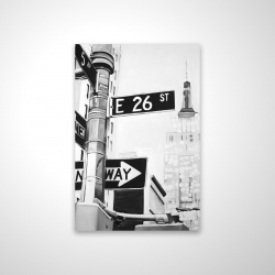 Magnetic 20 x 30 - 3D - New york city street signs