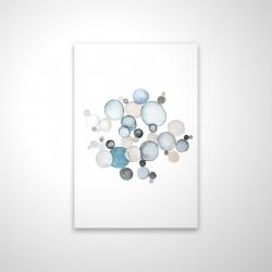 Magnetic 20 x 30 - 3D - Round pebbles