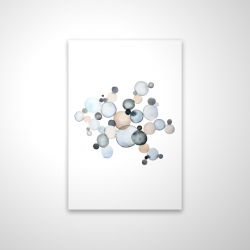 Magnetic 20 x 30 - 3D - Grayish bubbles