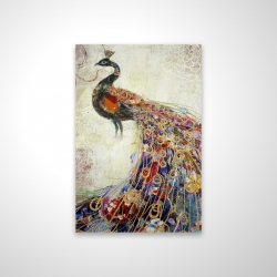 Magnetic 20 x 30 - 3D - Majestic peacock