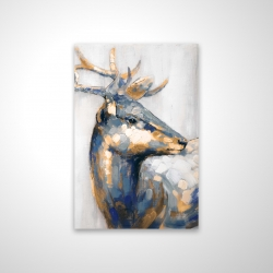 Magnetic 28 x 42 - 3D - Golden deer