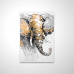 Magnetic 20 x 30 - 3D - Beautiful golden elephant