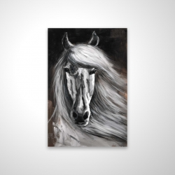 Magnetic 20 x 30 - 3D - White horse