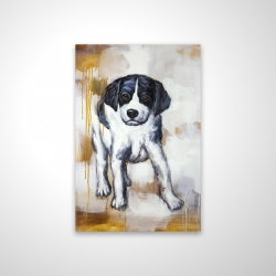 Magnetic 20 x 30 - 3D - Curious puppy dog