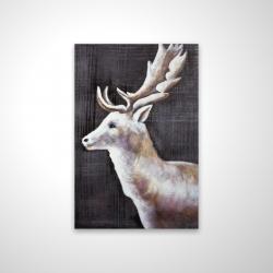 Magnetic 20 x 30 - 3D - Deer profile view in the dark