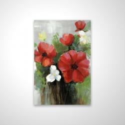 Magnetic 20 x 30 - 3D - Abstract wild flowers bundle