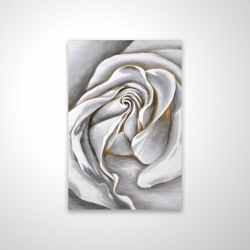 Magnetic 20 x 30 - 3D - White rose delicate