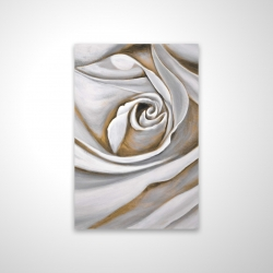 Magnetic 28 x 42 - 3D - White rose closeup