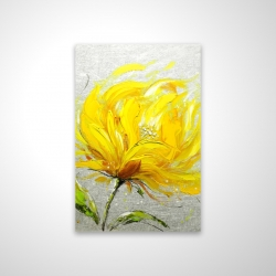 Magnetic 20 x 30 - 3D - Yellow fluffy flower