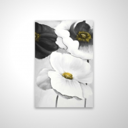 Magnetic 20 x 30 - 3D - Assorted white flowers