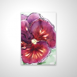 Magnetic 20 x 30 - 3D - Blossoming orchid with wavy petals