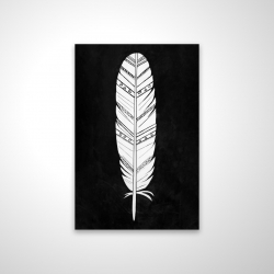 Magnetic 20 x 30 - 3D - Native american feather