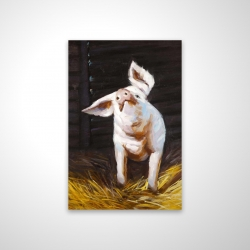 Magnetic 20 x 30 - 3D - Happy pig