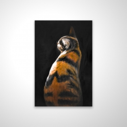 Magnetic 20 x 30 - 3D - Spotted cat