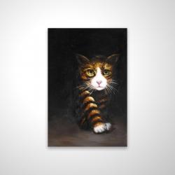 Magnetic 20 x 30 - 3D - Discreet cat