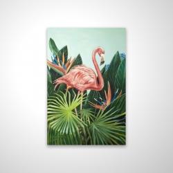 Magnetic 20 x 30 - 3D - Tropical flamingo