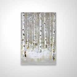 Magnetic 20 x 30 - 3D - Birch forest by winter