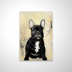 Magnetic 20 x 30 - 3D - French bulldog