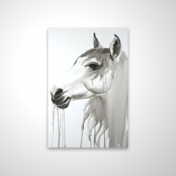 Magnetic 20 x 30 - 3D - Beautiful white horse