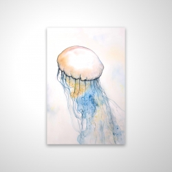 Magnetic 20 x 30 - 3D - Watercolor jellyfish