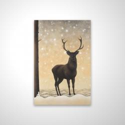 Magnetic 20 x 30 - 3D - Roe deer in winter