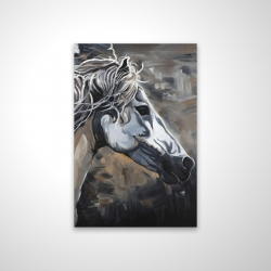Magnetic 20 x 30 - 3D - Side of a wild horse