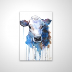 Magnetic 20 x 30 - 3D - Watercolor jersey cow