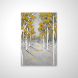 Magnetic 20 x 30 - 3D - Yellow birch forest