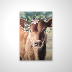 Magnetic 20 x 30 - 3D - Cute jersey cow