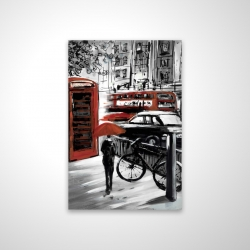 Magnetic 20 x 30 - 3D - European street