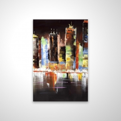 Magnetic 20 x 30 - 3D - Cityscape by night