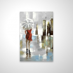 Magnetic 20 x 30 - 3D - Red dress woman