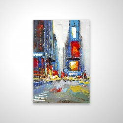 Magnetic 20 x 30 - 3D - Abstract and colorful buildings