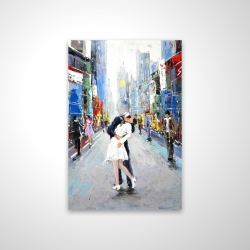 Magnetic 20 x 30 - 3D - Kiss of times square