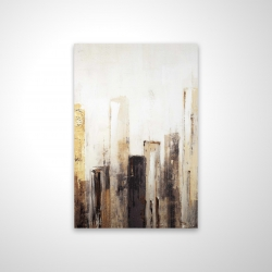 Magnetic 20 x 30 - 3D - Earthy tones city