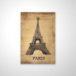 Magnetic 20 x 30 - 3D - Eiffel tower illustration