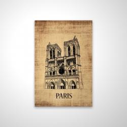 Magnetic 20 x 30 - 3D - Notre-dame de paris illustration