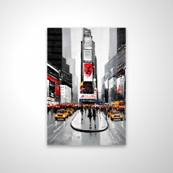 Magnetic 20 x 30 - 3D - New york city busy street
