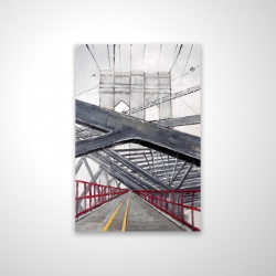 Magnetic 20 x 30 - 3D - Under the brooklyn bridge